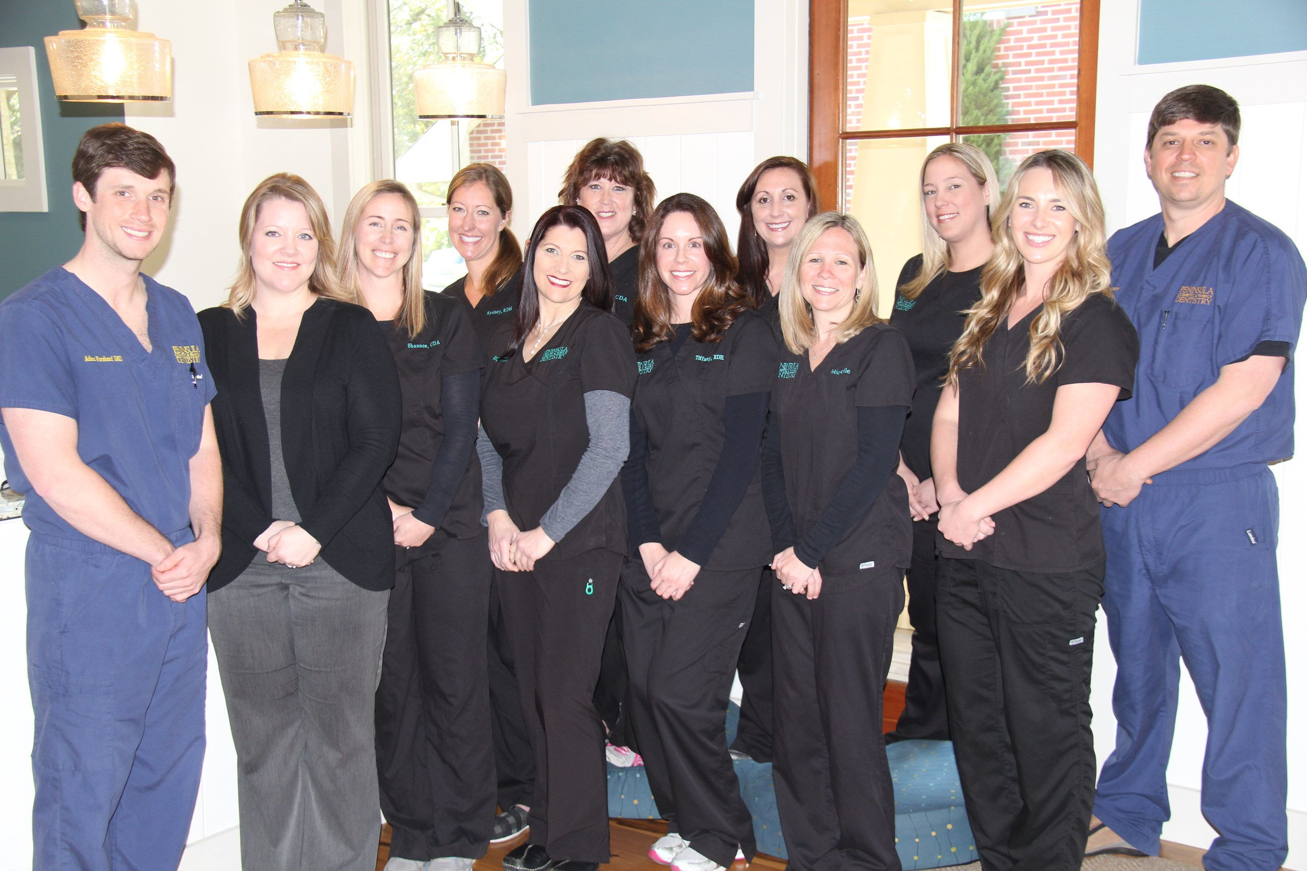 Staff at Peninsula Cosmetic & Family Dentistry in Charleston SC